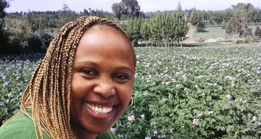 Successful Potato Farmer Story